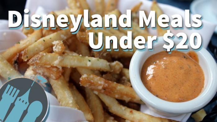 Disneyland Under $20 Thumbnail