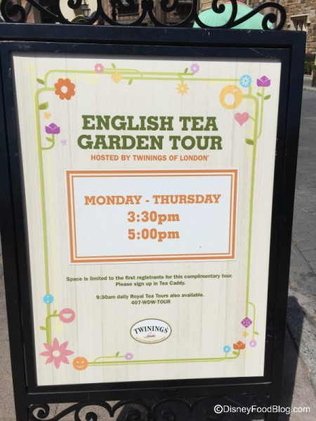English Tea Garden Tour