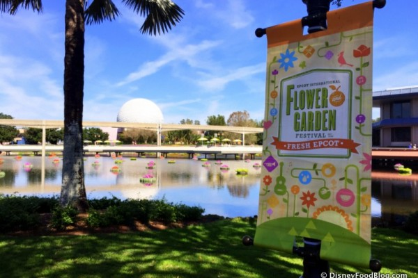 News: Disney World Annual Passholders Get Reserved Seating for Epcot Flower and Garden Festival Concerts