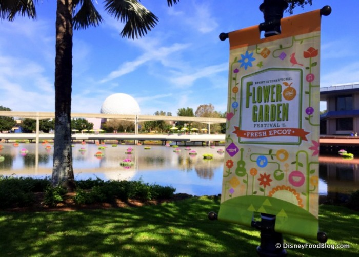 The Epcot Flower and Garden Festival