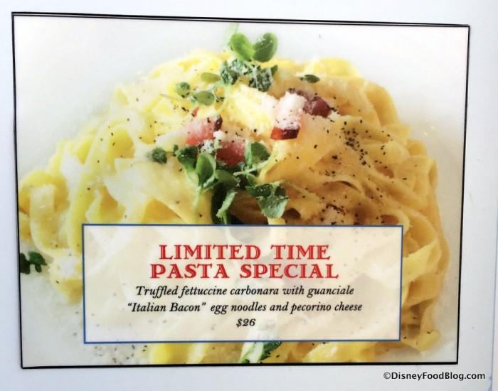 Pasta Special