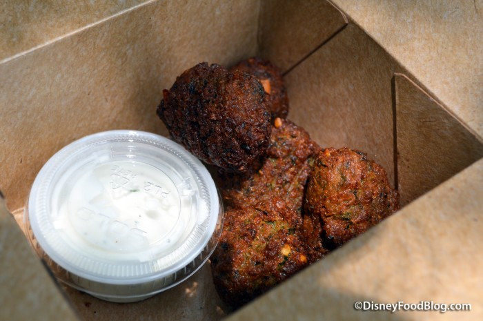 Falafel and Tzatiziki -- In the Box
