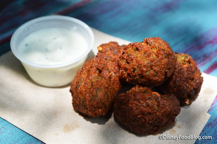 Falafel and Tzatziki