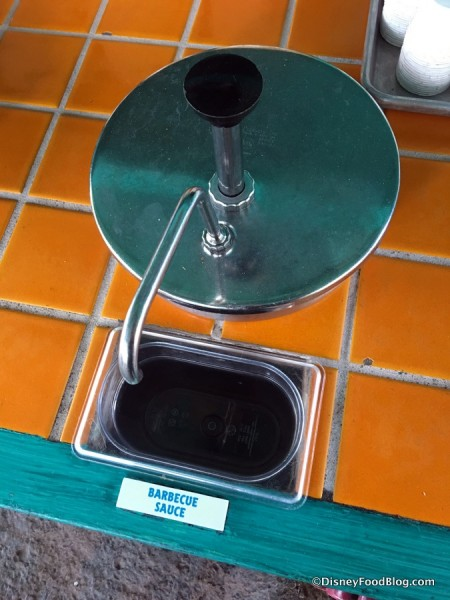 Flame Tree Barbecue Sauce Dispenser