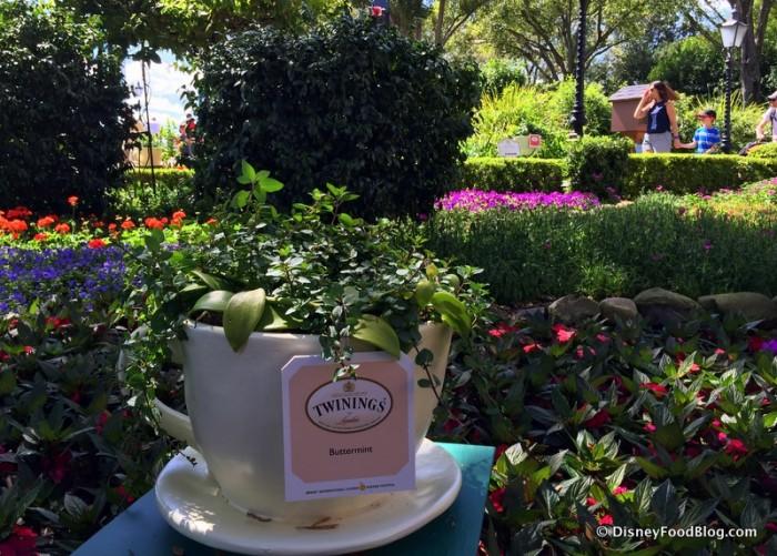 The Tea Garden in the UK Pavilion