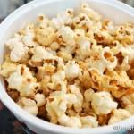 NEW! Maple Popcorn in Disney World's Magic Kingdom
