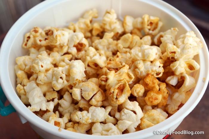 Frontierland Popcorn Cart Maple Popcorn
