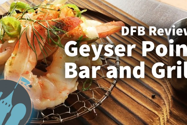 DFB Video Review: The NEW Geyser Point Bar and Grill at Disney's Wilderness Lodge