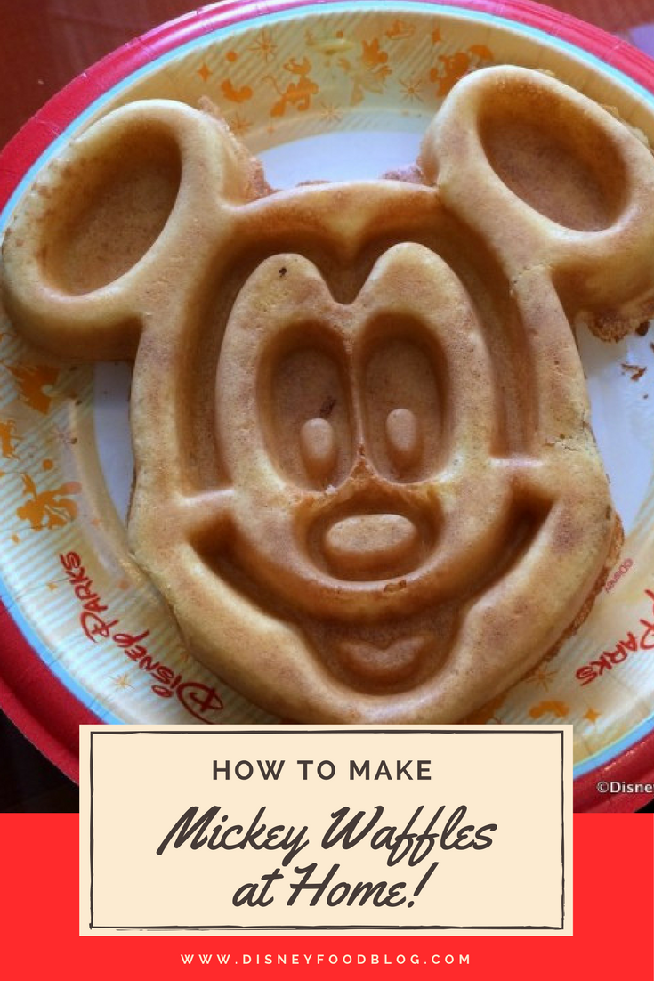 Learn how to Make Mickey Waffles at Home - we found out what mix Disney uses and we have a code for you to save too!
