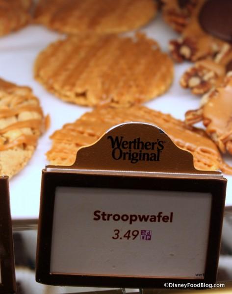 Karamel Kuche Stroopwafel