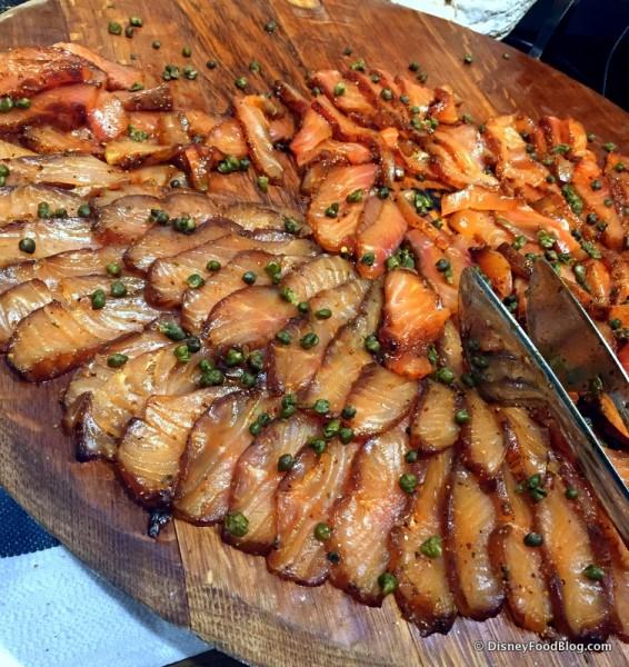 Pastrami Cured Faroe Island Salmon