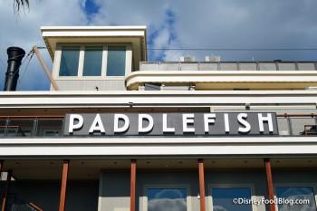 Paddlefish -- Sign