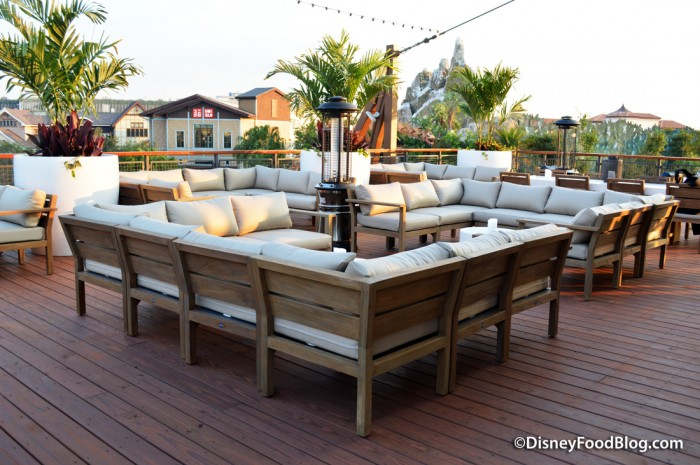 Rooftop Bar -- Back, Seating