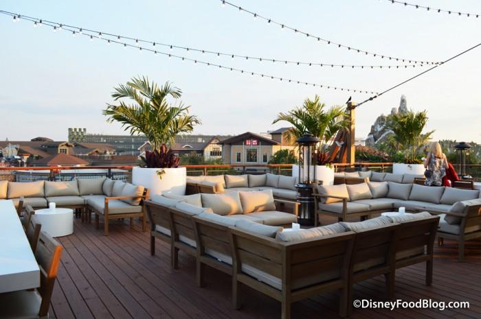 Rooftop Bar -- Back