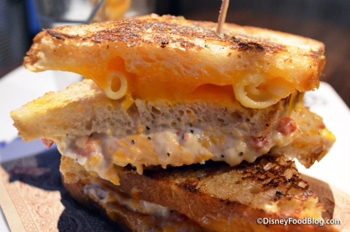 Pimento Grilled Cheese -- Inside