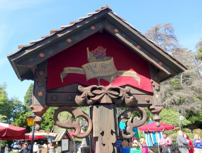 Red Rose Taverne Red Rose Sign