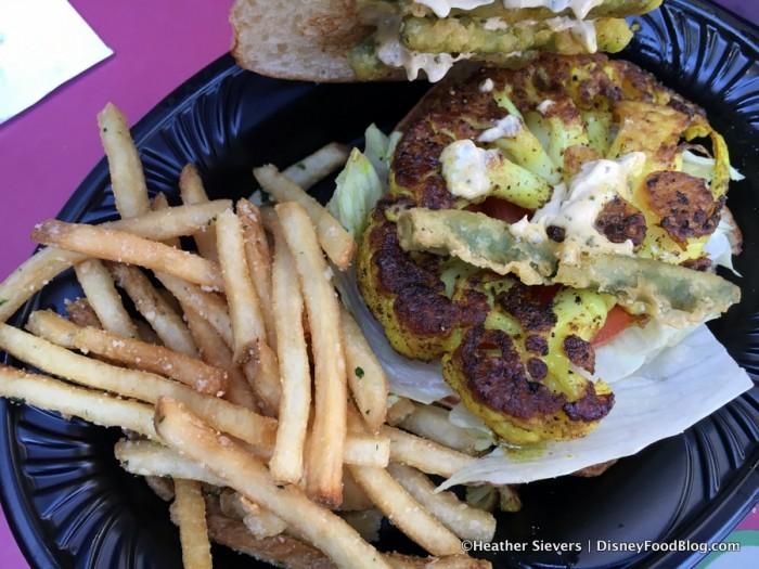 Cauliflower Sandwich -- Inside
