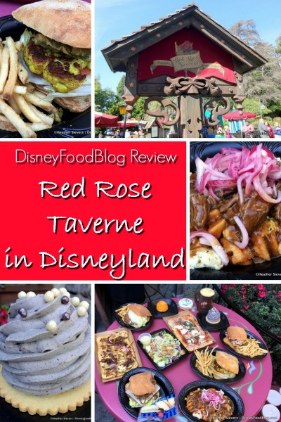We Visited the Red Rose Taverne (Beauty and the Beast!!!) in Disneyland and Ordered Everything!