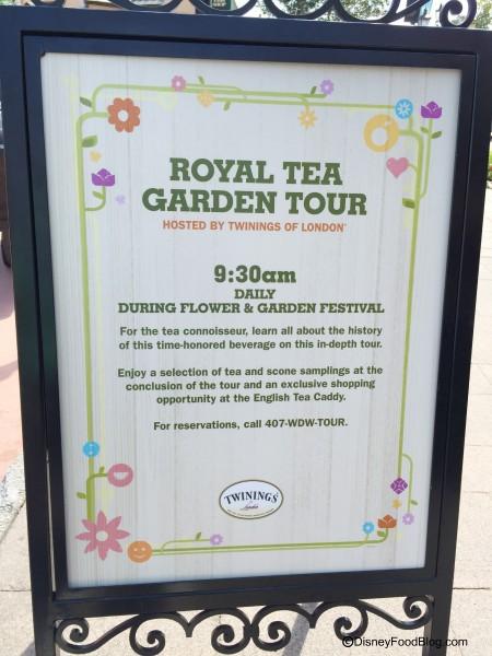 Royal Tea Garden Tour