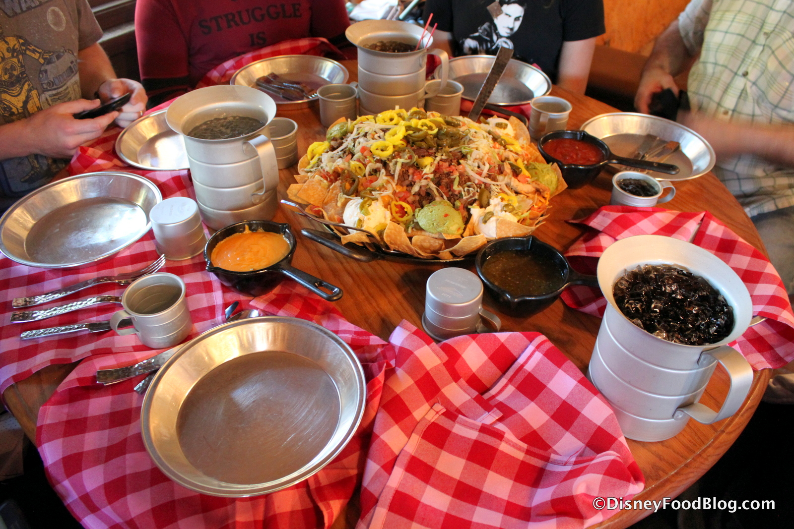 Pecos Bill Cafe Disney World Menu