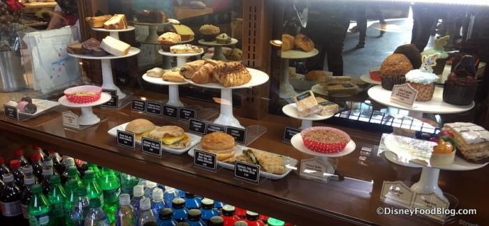 Trolley Car Cafe Bakery Case