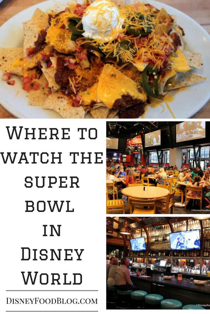 Where to Watch the Super Bowl in Walt Disney World!