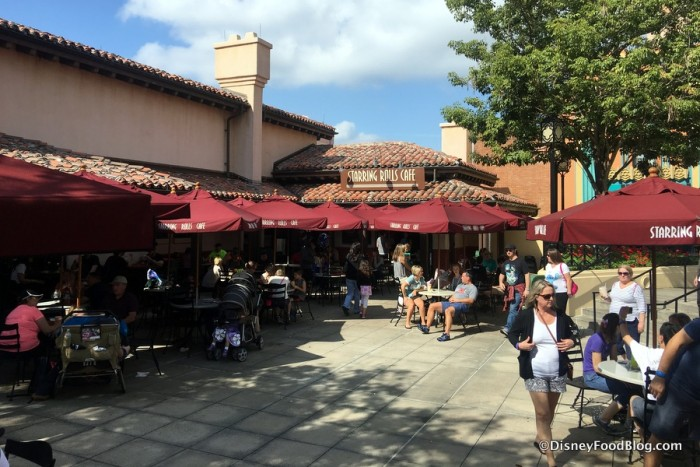 Starring Rolls Cafe in Disney's Hollywood Studios