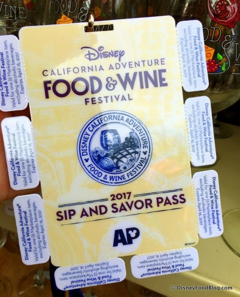 2017 Annual Passholder Sip and Savor Pass