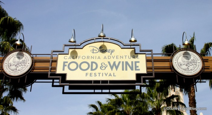 The 2017 Disney California Adventure Food and Wine Festival Has Begun!