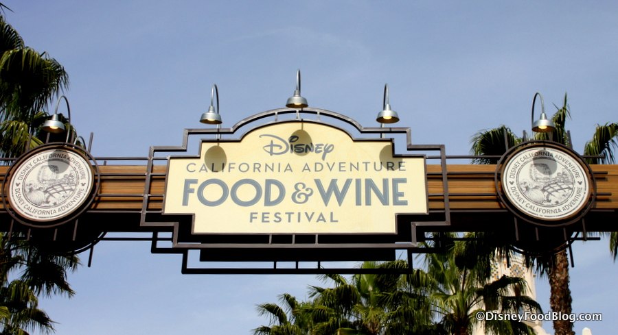 Disneyland Food And Wine Festival  Dates