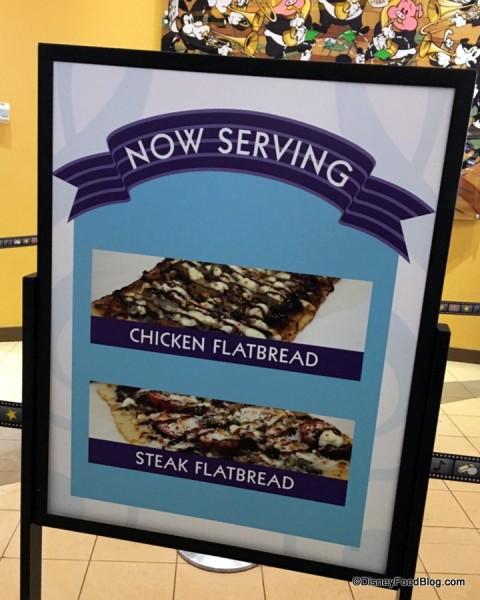 Flatbread sign