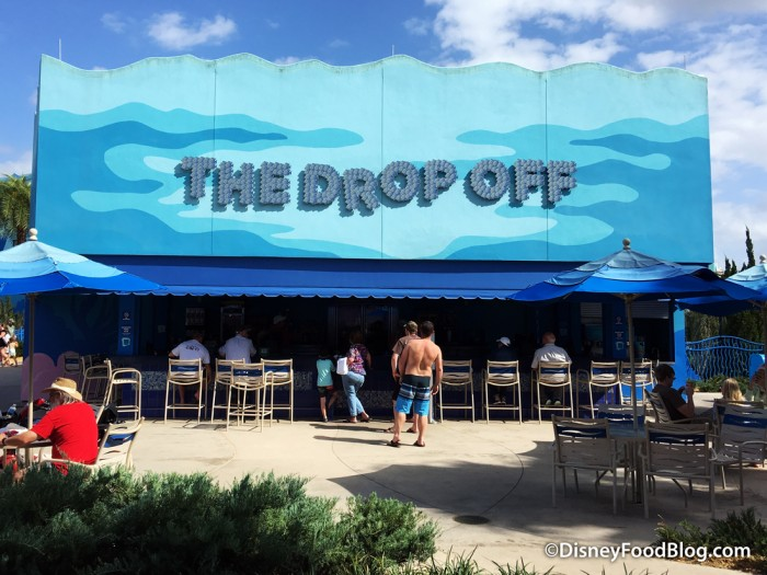The Drop Off Pool Bar at Art of Animation Resort