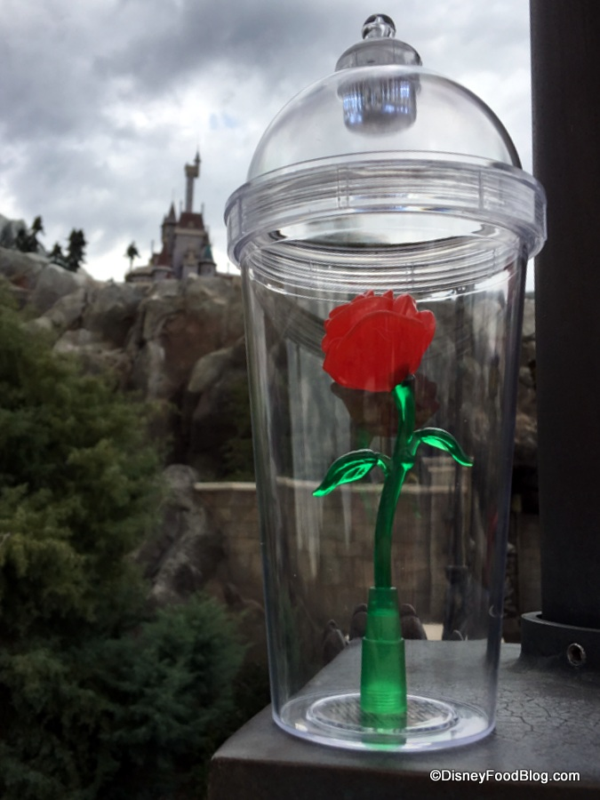Beauty And The Beast Rose Cup The Disney Food Blog