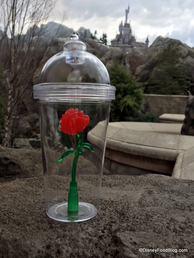 Beauty And The Beast Treat Enchanted Rose Cake Pop The