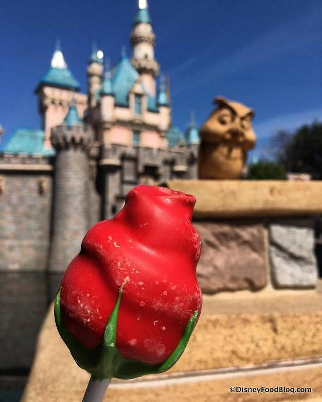 Beauty And The Beast Treat Enchanted Rose Cake Pop