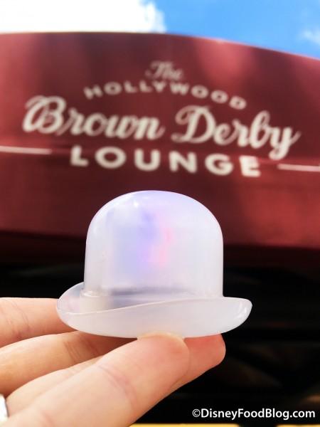 Hollywood Brown Derby Souvenir Glowcube
