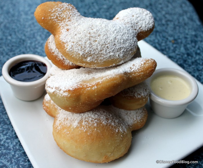 Cafe Orleans Mickey Beignets