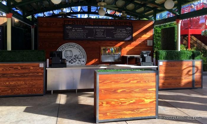 Disney California Adventure Food and Wine Festival 17_-006 Festival Beer Garden