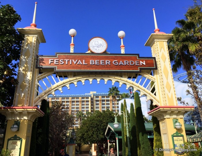 Disney California Adventure Food and Wine Festival 17_-010 Festival Beer Garden