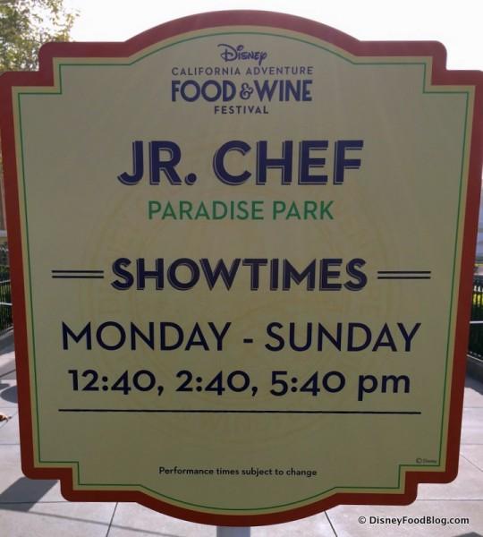 Disney California Adventure Food and Wine Festival 17_-011 Jr. Chef