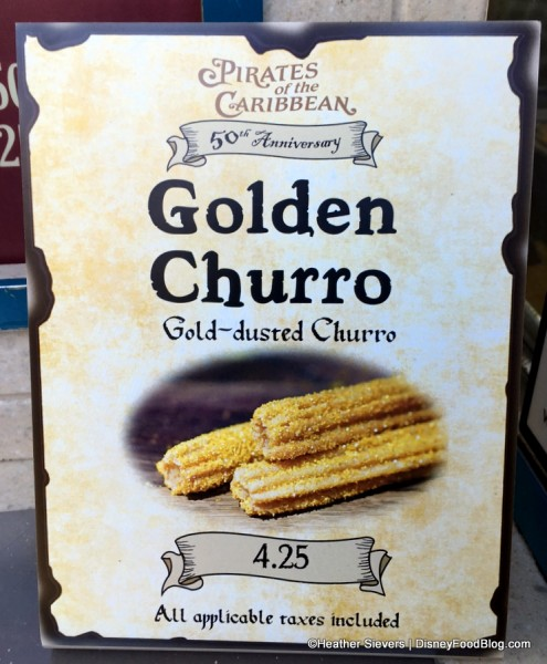 Golden Churro sign
