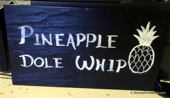 Dole Whip Sign