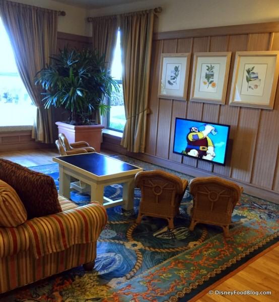 Children's TV Viewing Area