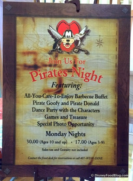 Pirate's Night