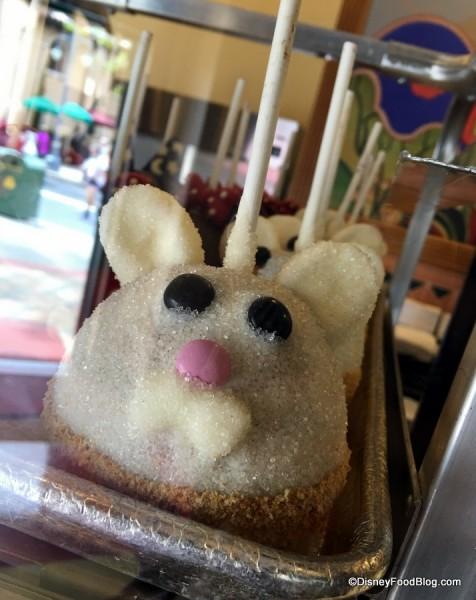 Easter Bunny Caramel Apple