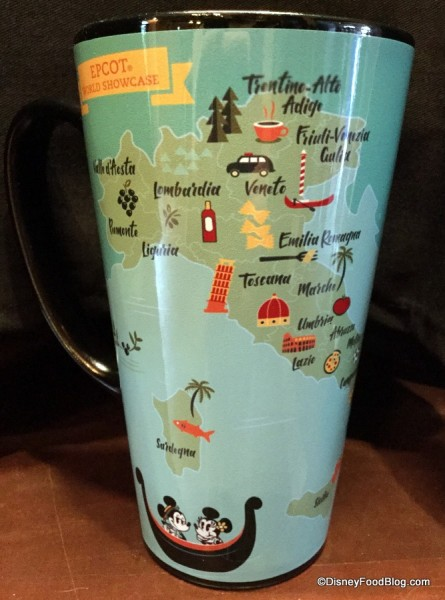 Other side of Italia Mug