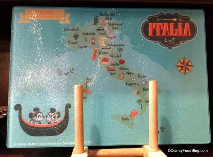 Italia Cutting Board