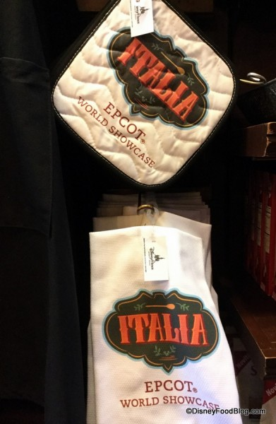 Italia Potholder and Dish Towel