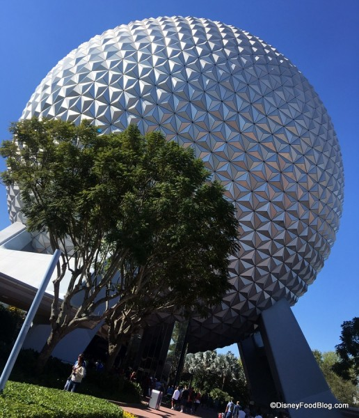 Epcot's Spaceship Earth