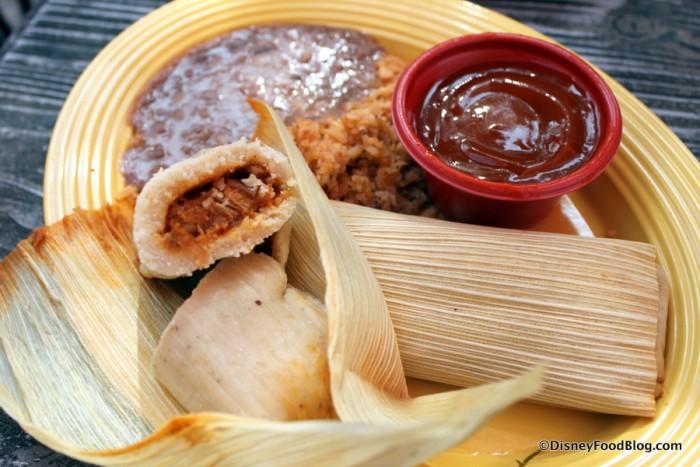 Tamales -- Inside